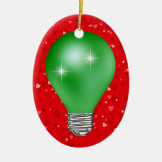 Teacher Light Bulb Christmas Ornament