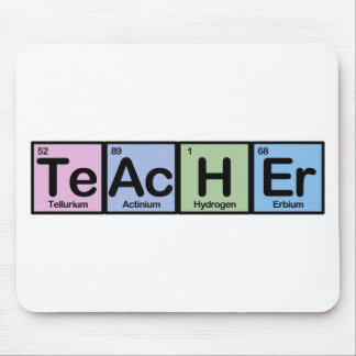 Teacher made of Elements Mouse Mat