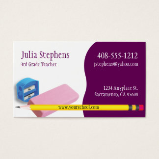 1,000+ Tutor Business Cards and Tutor Business Card Templates ...