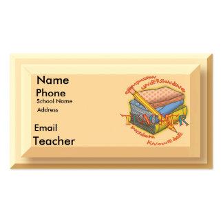 Teacher Motto Pack Of Standard Business Cards