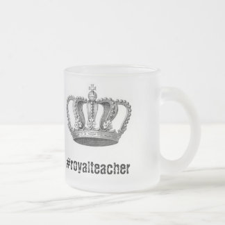 Teacher Mugs! Frosted Glass Coffee Mug