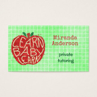 Teacher or Private Tutor Learn Baby Apple and Grid