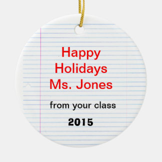 """Teacher"" Ornament"
