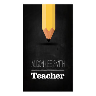 Teacher Pack Of Standard Business Cards