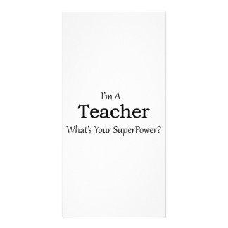 Teacher Customized Photo Card