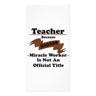 Teacher Photo Card