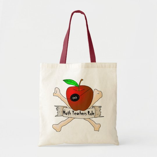 Teacher Pirate tote bag