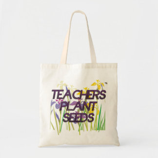 TEACHER PLANT SEEDS TOTE BAG