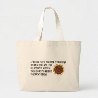 Teacher Plants Seeds Tshirts and Gifts Bag