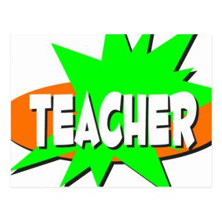 Teacher Postcard