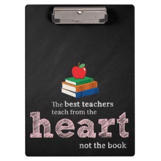 Teacher quote clipboards