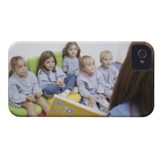 Teacher reading to students iPhone 4 case