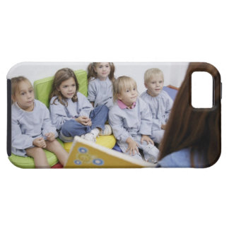 Teacher reading to students tough iPhone 5 case