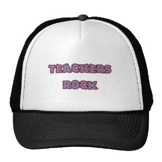 Teacher rock cap