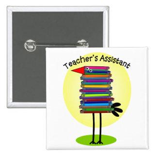 Teacher s Assistant Book Bird Design Pins