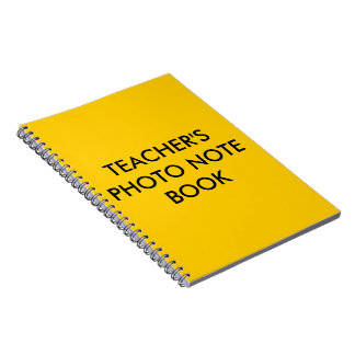Teacher s notebook