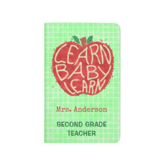 Teacher School Classroom Apple | Learn Baby | Name Journals