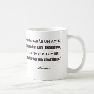 Teacher Spanish Basic White Mug
