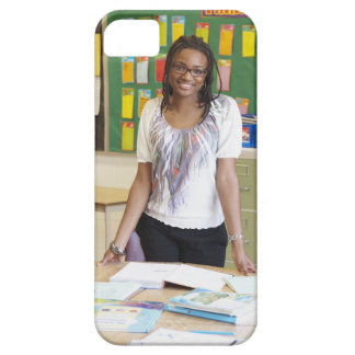 Teacher standing in classroom barely there iPhone 5 case