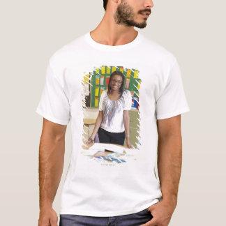 Teacher standing in classroom T-Shirt