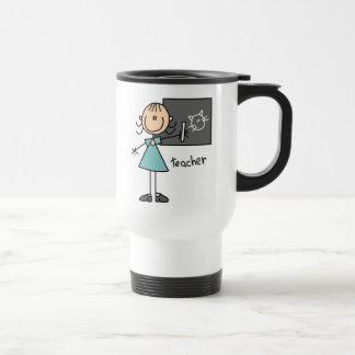 Teacher Stick Figure Mug