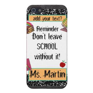 Teacher/Student School Theme Speck iPhone Case