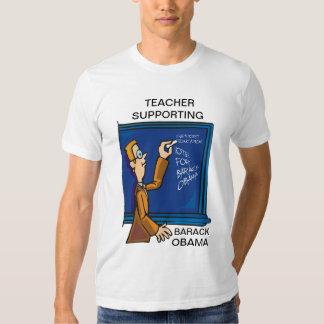TEACHER SUPPORTING OBAMA T-SHIRT