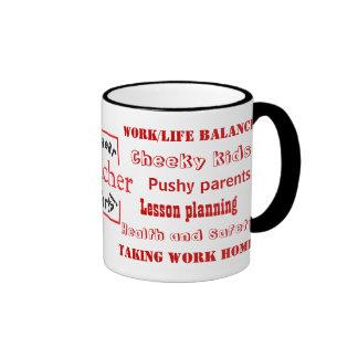 Teacher Swear Words! Funny Teaching Joke Coffee Mugs