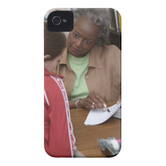 Teacher talking to student iPhone 4 case