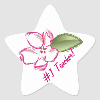 Teacher Thank You Gifts Star Sticker