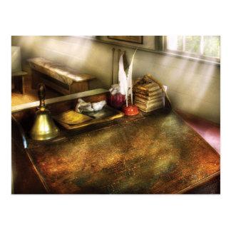Teacher - The School Room Postcard