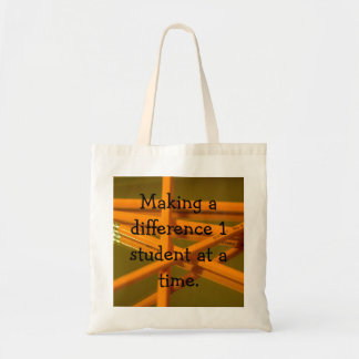 teacher tote budget tote bag