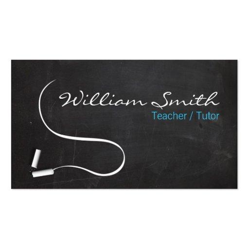 Collections of history teacher business cards teacher tutor business card tarjetas de negocios reheart Image collections