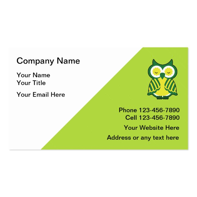 Examples Of Travel Agent Business Cards