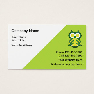 Teacher Tutor Business Cards