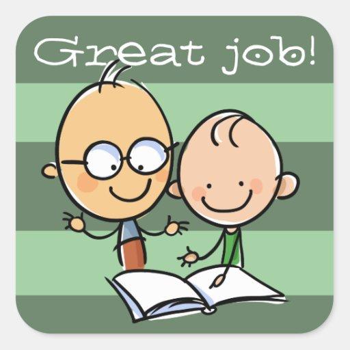 Teacher Tutor Great Job Encouragement sticker