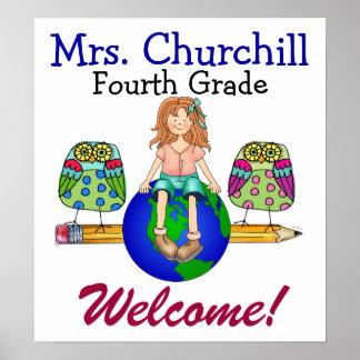 Teacher Welcome Poster - SRF