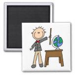 Teacher With Globe