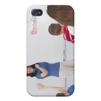 Teacher with students cases for iPhone 4