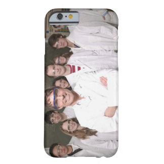 Teacher with students in science class barely there iPhone 6 case
