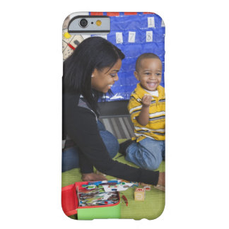 Teacher with toddler in daycare barely there iPhone 6 case