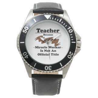 Teacher Wristwatches