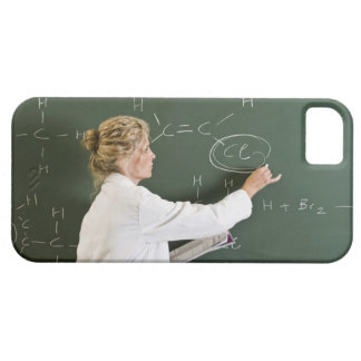 Teacher writing on chalkboard barely there iPhone 5 case