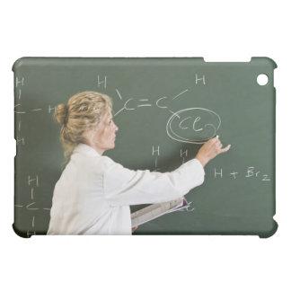 Teacher writing on chalkboard iPad mini cover