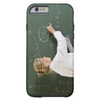 Teacher writing on chalkboard tough iPhone 6 case