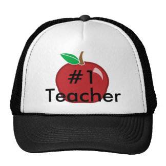 Teacher's #1-Cap Hats
