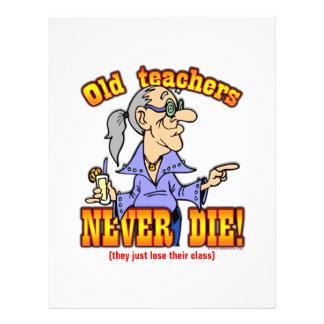 Teachers 21.5 Cm X 28 Cm Flyer