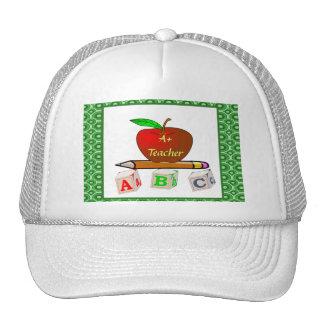 Teachers' ABC's Personalize Cap
