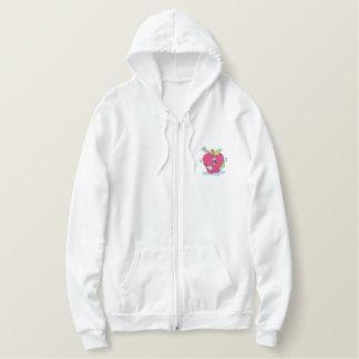 Teachers Apple Embroidered Hoodie