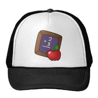 Teacher's Apple Trucker Hats